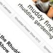 Muddy Fingers Website by Moonlighting Web