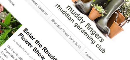 Muddy Fingers Website by Moonlighting Web